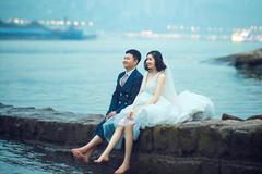 上海拍婚纱照什么价位?