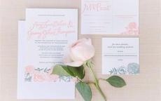 结婚请柬英文模板 中英文版婚礼邀请格式有何不同