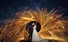 怎么拍好夜景婚纱照