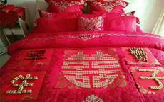 结婚铺床的步骤图片及顺口溜