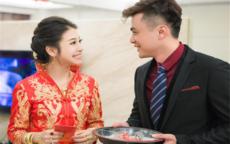 新郎新娘祝福语简单版
