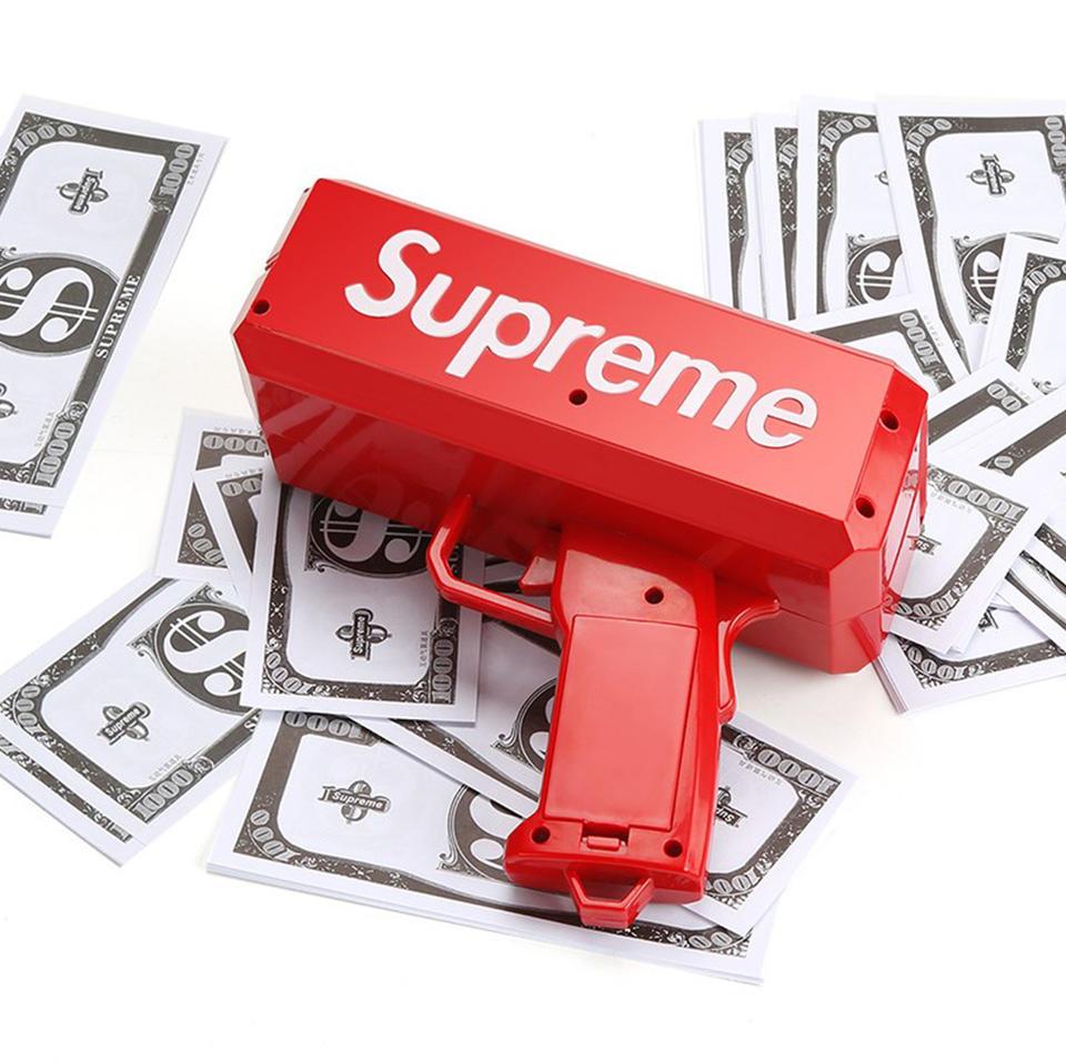 Supreme喷钞机抖音玩具网红神器