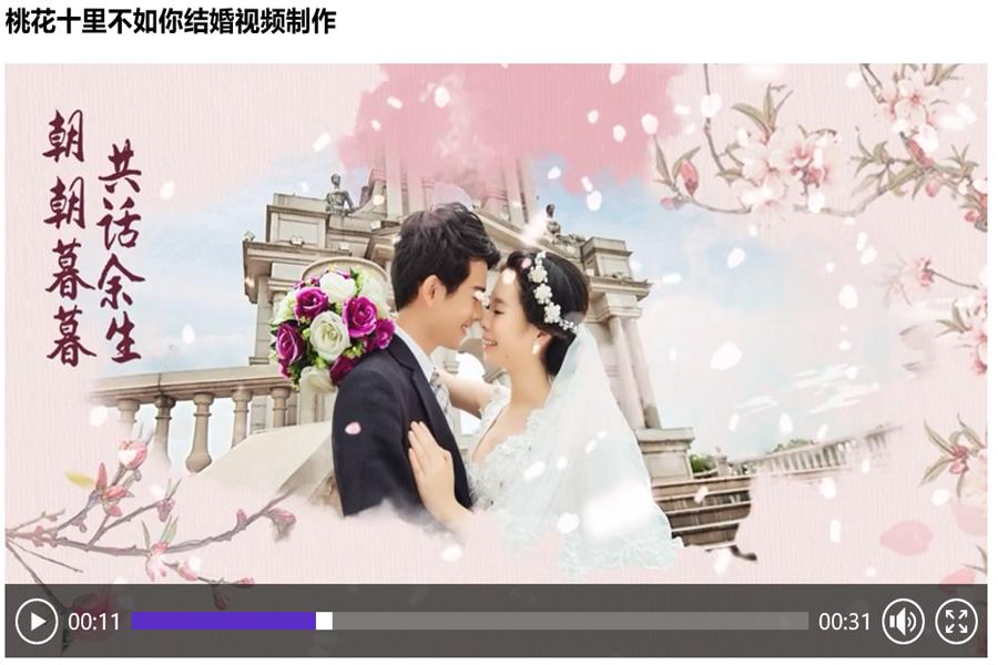 婚礼视频怎么加文字