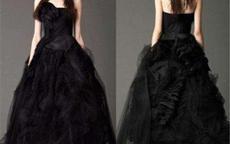 抖音黑色婚纱新娘图片 黑婚纱的寓意是什么