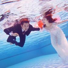 青岛水下婚纱照拍摄攻略