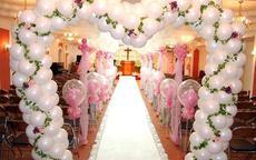 结婚拱门图片欣赏 如何布置婚礼拱门
