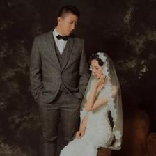 婚纱照届情怀担当——油画复古婚纱照怎么拍