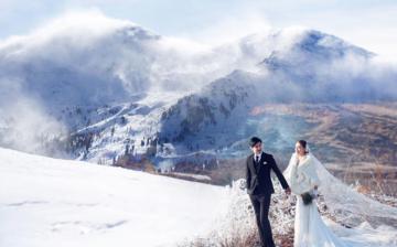 冬季青島雪景婚紗照拍攝攻略