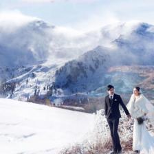 冬季青岛雪景婚纱照拍摄攻略