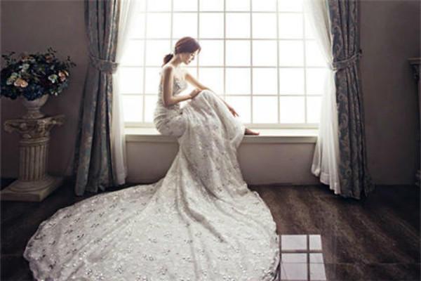 日韩风婚纱照