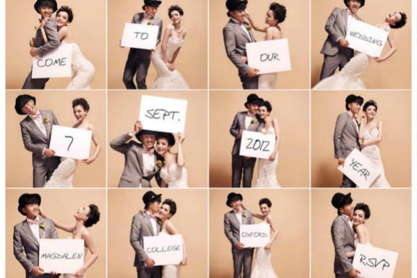 个性风格婚纱照