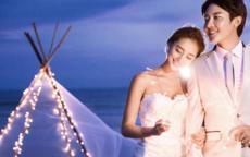 海边婚纱照图片唯美 海边婚纱照风格赏析