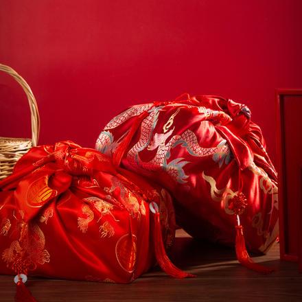中式传统红包袱
