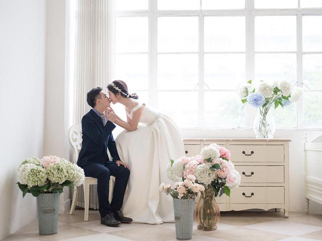 韩式婚纱照