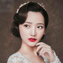 韩式新娘发型 短发新娘照样仙气满满