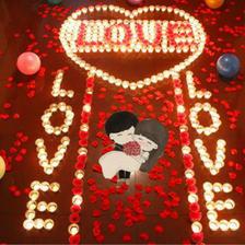 求婚蜡烛怎么摆好看 求婚蜡烛需要摆多少