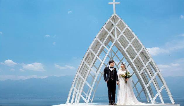 /三亚教堂婚纱照