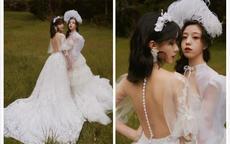 从校服到婚纱 我们一起拍闺蜜婚纱照吧