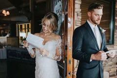 简短感人的婚礼现场求婚告白词