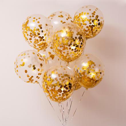 【30个】INS透明亮片气球套装