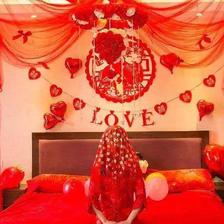 有创意的婚房布置图片及技巧