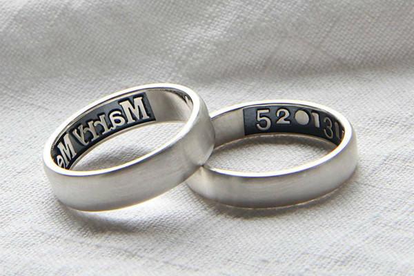 求婚戒指刻字