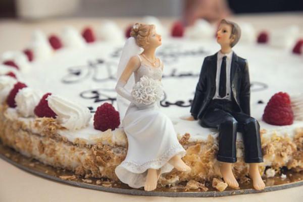 婚礼小人蛋糕