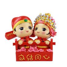 中国风新人礼物中式树脂摆件