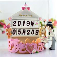 创意实用结婚礼物订婚纪念日礼品婚房摆件