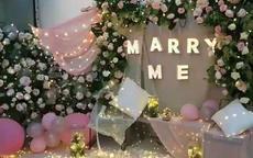 求婚现场布置效果图 求婚现场布置的3个注意事项