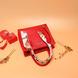 蝴蝶结丝巾大容量新娘婚包