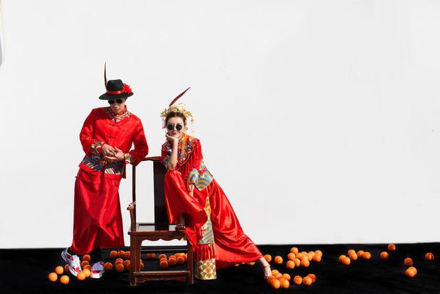 后古中国风婚纱照