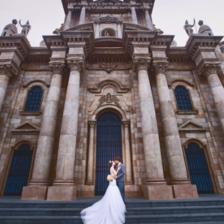 在青岛拍欧式婚纱照 看这一篇就够了