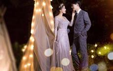韩式外景婚纱照片欣赏