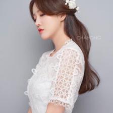 韩式婚纱照新娘发型推荐 总有一款适合你