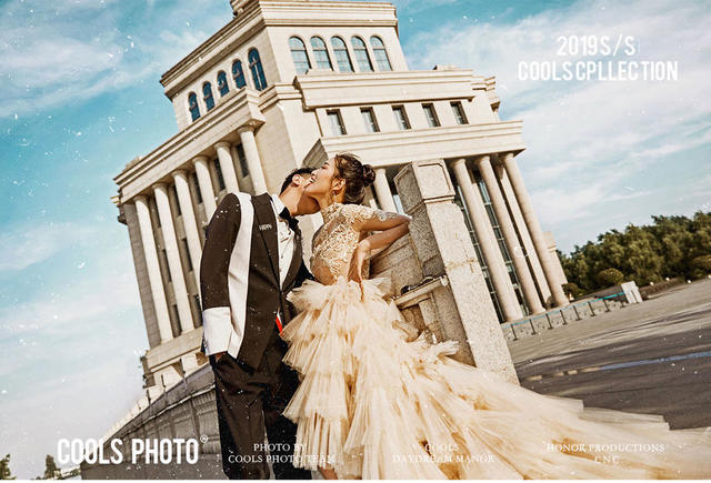 果石婚纱照