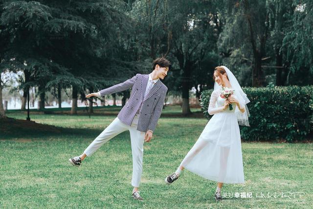 美好幸福纪婚纱照