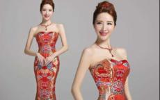 结婚礼服旗袍的款式推荐