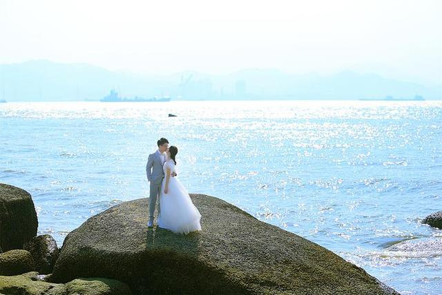 海景婚纱照