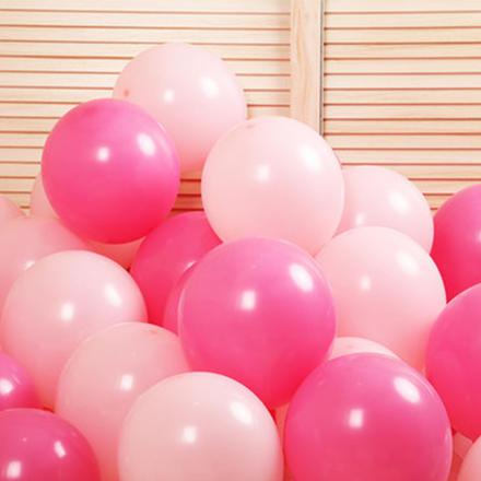 【100个装】双色混色乳胶气球