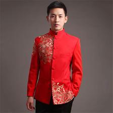 男士中式婚礼礼服
