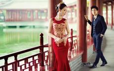 中式复古婚纱照图片 复古婚纱照有哪些选择