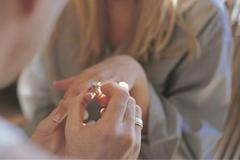求婚戒指尺寸对照表 如何悄悄测量女友手指尺寸