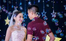 蓝色主题系列的婚礼该如何布置?
