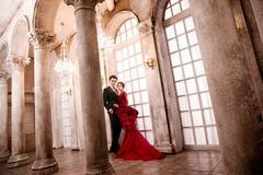 拍婚纱照姿势的禁忌有哪些