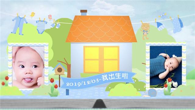安以轩宣布生子,给宝宝最好的礼物自然是把孩子照片做成视频留念