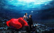 水下婚纱摄影怎么拍比较好看,有哪些技巧