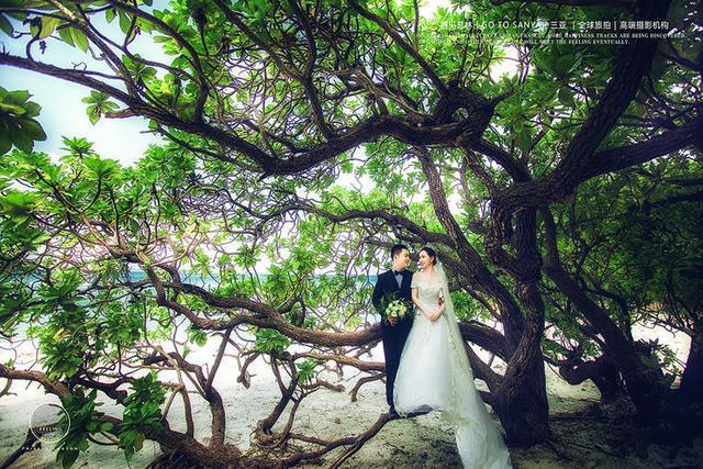 三亚拍婚纱照的景点