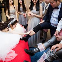 结婚整蛊道具脚毛贴