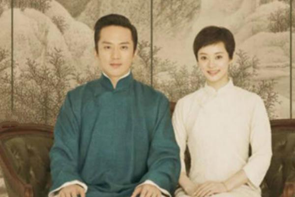 孙俪中式婚纱礼服